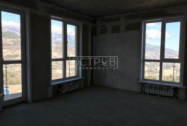 Квартира 94,38 кв.м с панорамным видом на море. Бахчисарайское шоссе