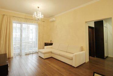 Двухкомнатная квартира в Приморском парке.